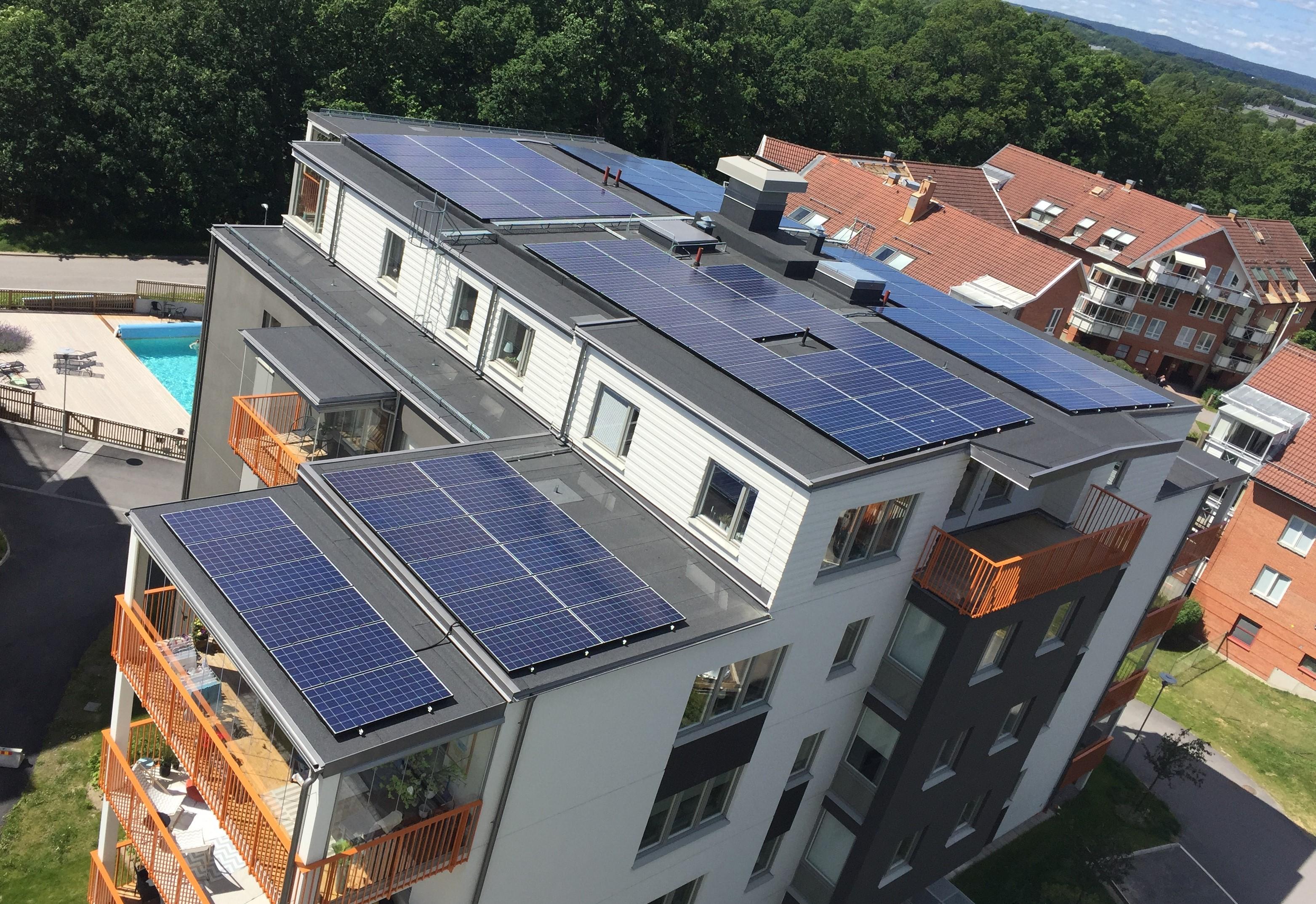 Solceller bostadsrätt