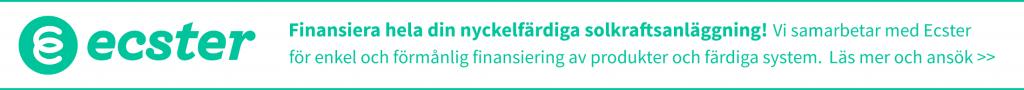 Banner - Finansiering ecster