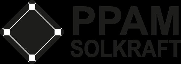 PPAM Solkraft – vi levererar nyckelfärdiga solcellsanläggningar Logo
